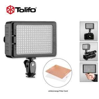 TOLIFO PT-C-204S LED VIDEO LIGHT FOR ALL CAMERAS