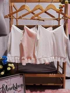 Take all 3 pcs for only 150! Pleated string top