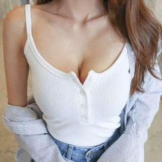 Bn Ribbed Camisole