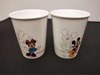 🚚 迪士尼米老鼠情侶對杯