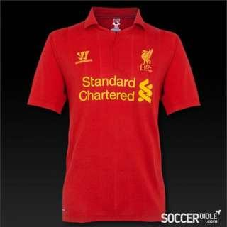 Preloved authentic Liverpool jersey season 2012/2013