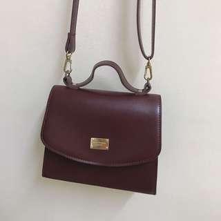 Maroon sling bag #PRECNY60