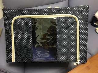 全新雙門布料儲物箱 2 ways open nylon storage box