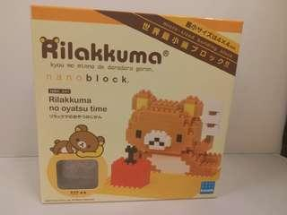全新 nanoblock Rilakkuma no oyatsu time