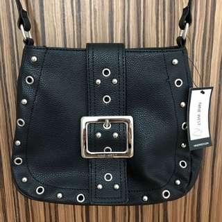 Nine West Downtown Buckle Sling Bag