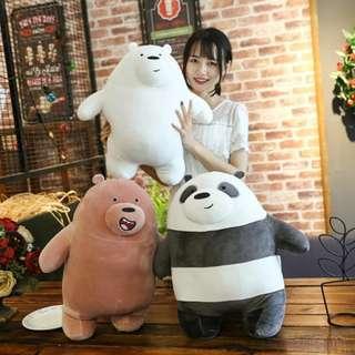 PO: We Bare Bear Plush #006