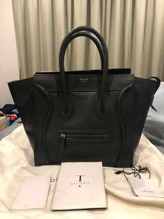 88a3313837 celine bag luggage mini