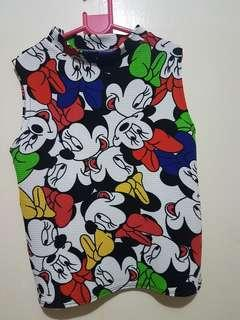 Mickey and Mini Mouse Blouse