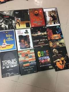 Placebo Stevie Ray Vaughan Roger Waters David Gilmour Blur Travis MUSIC DVD