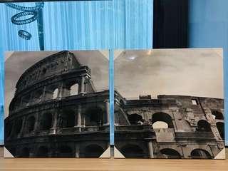 Rome Picture Photo Canvas