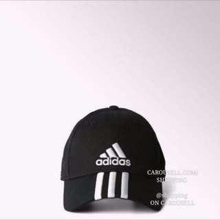 Authentic Adidas 3 Stripe Embroidered Baseball Cap