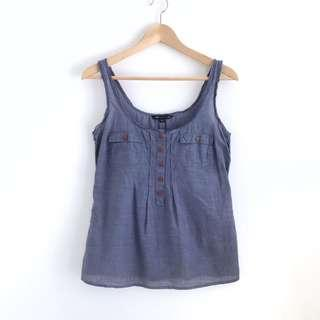 Button Tank Top
