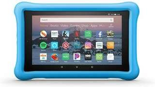 Amazon Kid-Proof Case for Amazon Fire HD 8 Tablet Blue/Pink