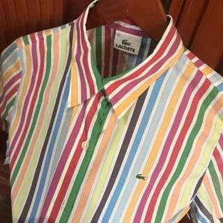 LACOSTE Polo Shirt AUTHENTIC - used only twice - negotiable