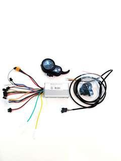 ***In-Stock = 36v 25A (Custom Made) J&P Controller + Throttle + 7 Pin Wires (1set) DYU FIIDO OEM