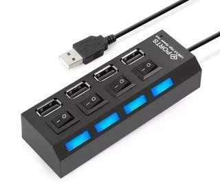 🚚 USB 2.0 HUB 4 port