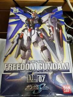 ZGMF-X10A FREEDOM GUNDAM 1/100