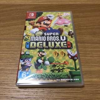 Switch Super Mario Bros U Deluxe 中文版 (超級瑪利歐兄弟U豪華版)