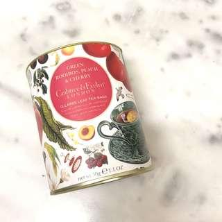 Crabtree & Evelyn Green Rooibos, Peach & Cherry Tea