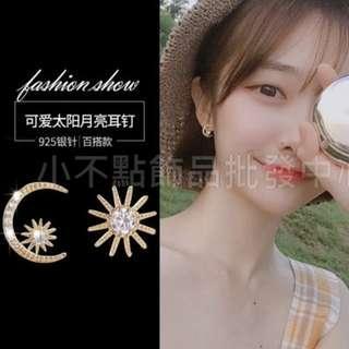 💥市售390元💥韓國時尚氣質S925銀針耳環