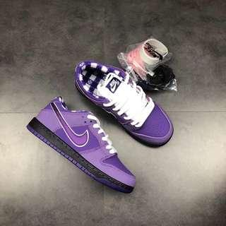 """new styles aa999 1dc51 36-45 Unisex Authentic Concepts x Nike SB Dunk Low """"Purple Lobster"""" BV1310"""