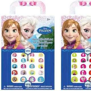 Frozen nail art stickers / party gift / goodie bag gift
