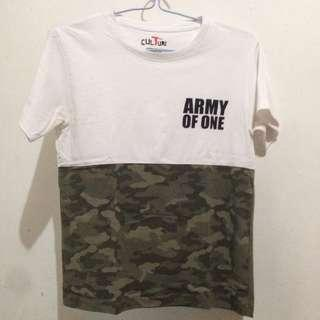 TeeCulture Army of One shirt