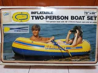 Inflatable Boat for 2