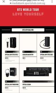HTB BTS LOVE YOURSELF CONCERT OFFICIAL MD