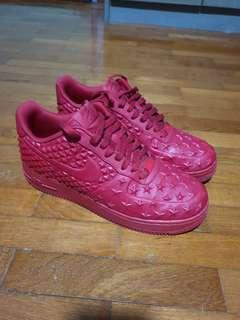 Aunthentic Nike Air Force 1 Red star no box