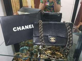 Chanel snake skin