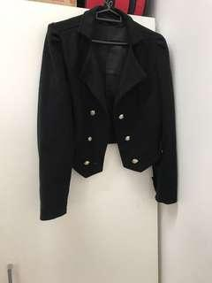 Military Wool Double Breasted Coat #PreCny60
