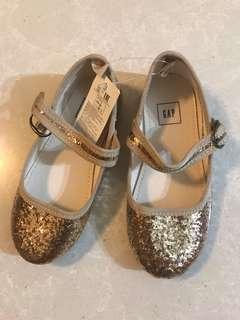 Gap glitter Mary Jane shoes kids US9