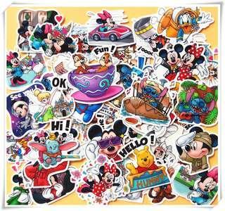 Disney Characters Scrapbook / Planner Stickers #296