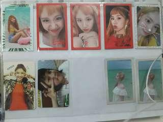 [WTT/WTS] Twice The Story Begins and Summer Nights Photocards
