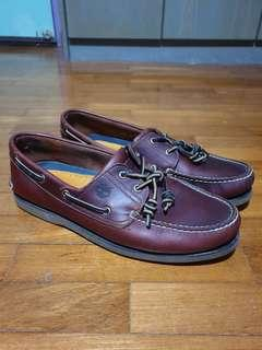 Authentic Timberland boat shoes no box