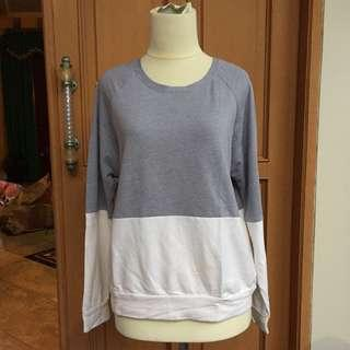 Two Tone Sweater - Cottonink