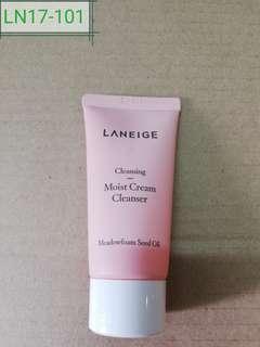 LN17-101: Multi Moist Cream Cleanser 30ml (meadowfoam seed oil ) 30ml