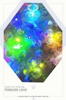 🚚 LED氣球燈 七彩燈 圓球LED燈