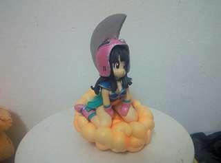 Chi chi with nimbus dragon ball
