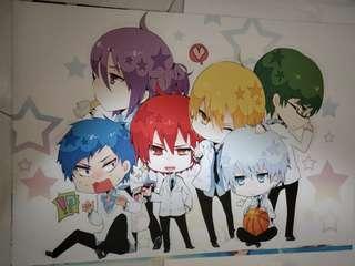 A3 kuroko no basket poster