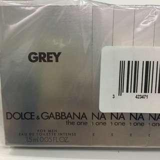 D&G The One Grey 1.5mlx2 Perfume Samples