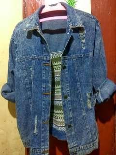 Oversize jaket
