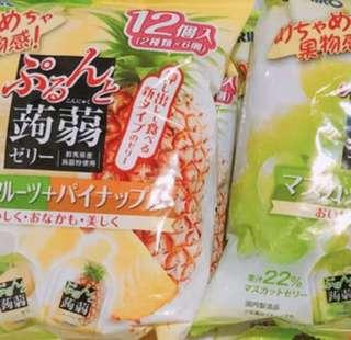 🚚 日本蒟蒻果凍 全新 一包12個