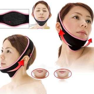 Face V shape slim bandage belt