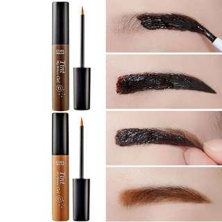 Women eyebrow tint gel