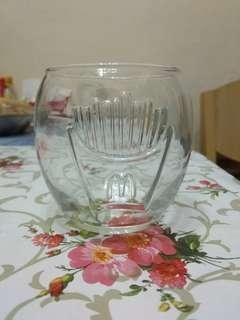 薯條圖案玻璃杯