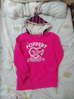 🚚 超暖💕桃粉刷毛上衣