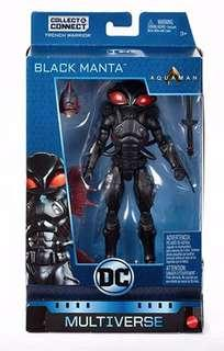"""DC Multiverse Trench Warrior BAF Series BLACK MANTA 6"""" Action Figure New in Box"""