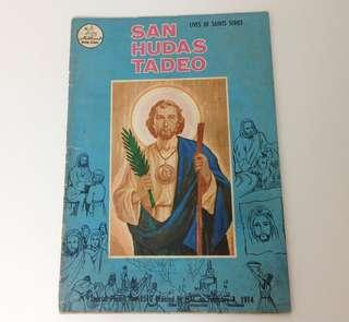 1970's National Bookstore Komiks SAN HUDAS TADEO